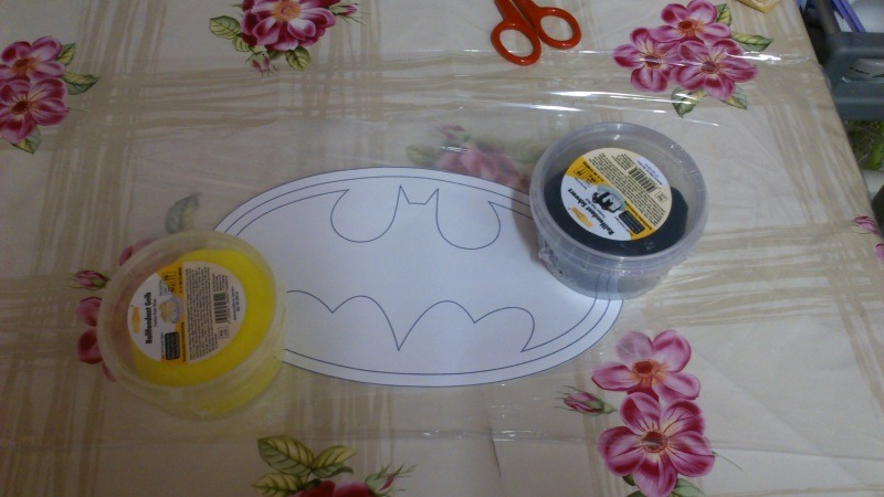 Batman Kuchen Evil Blog