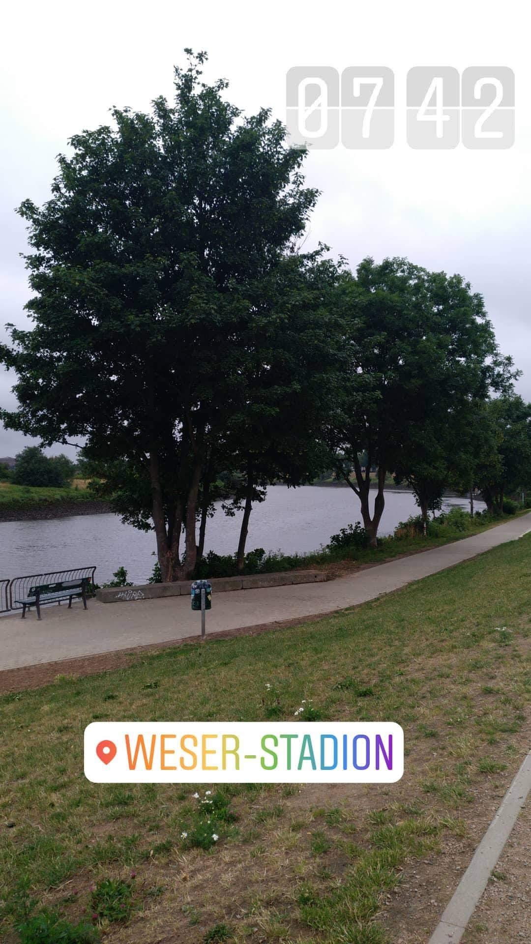 Blick auf die Weser